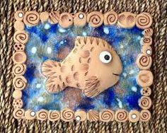 Výsledek obrázku pro keramika kachel moře
