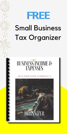 Get your FREE Small Business Tax Organizer for 2018 Income Tax Prep! Organizer includes tax tips, tax changes, income and expense worksheets, and mileage logs. Simply enter your info to let us know where to send it! Small Business Bookkeeping, Small Business Tax, Business Tips, Business Expense Tracker, Finance Books, Finance Tips, Income Tax Preparation, Business Tax Deductions, Small Business Organization