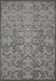 Nourison Graphic Illusions GIL-05 Grey Area Rug