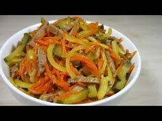 Потрясающе Вкусный салат ''АЗИЯ'' Никогда не надоест! - YouTube Salad Bar, Japchae, Thai Red Curry, Carrots, Cabbage, Spaghetti, Vegetables, Ethnic Recipes, Food