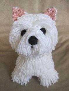 (4) Name: 'Crocheting : Westie