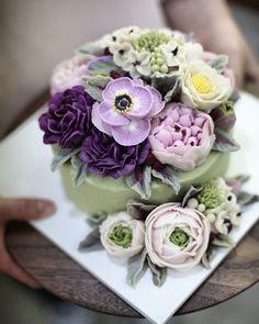 #koreancake #koreancakes #koreanflowercake borthdsy mothers day garden party cake