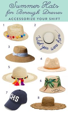 Find the perfect summer hats for your Borough dresses  I Straw hats and more featuring Tassels PomPoms and Sequins
