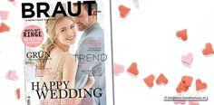 Braut & Bräutigam Magazin – Ausgabe 3-2017 #Brautmagazin #Hochzeitsmagazin #Magazin #Magazine #Zeitschrift #Brautkleid #Brautmode #Weddingdress #Weddinggown #wedding