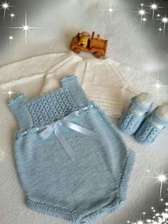 Extreme Cute Knitted Baby Rompers – Knitting And We Baby Blanket Crochet, Crochet Baby, Knitted Baby, Baby Kids Clothes, Doll Clothes, Knitted Dolls, Baby Knitting Patterns, Kids Fashion, Girl Outfits