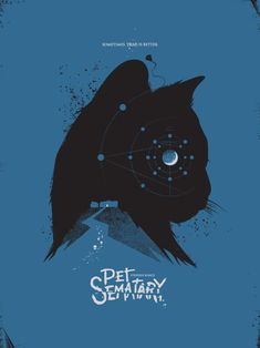 Pet Sematary Horror film about a pet cemetery that brings the dead back to life. Directed by Mary Lambert. Horror Movie Posters, Minimal Movie Posters, Cinema Posters, Horror Movies, Film Posters, Stephen King It, Pet Sematary, Scary Movies, Good Movies