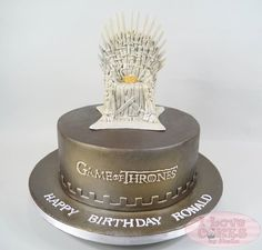 game of thrones cake idea - For all your cake decorating supplies, please visit craftcompany.co.uk