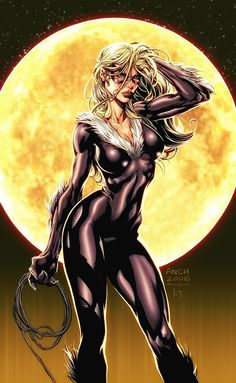 Black Cat. Never understood why Spiderman chased after Mary Jane when he had his own Catwoman