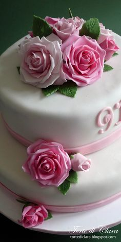 Children's Cakes - Rose cake
