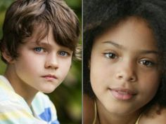 Ok so here are the new Peter Pan and Wendy, Levi Miller and Leni Zieglmeier