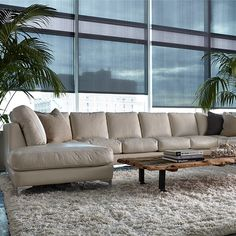 Etonnant Kendall Sectional Sofa By American Leather Creativity Knows No Bounds With  The Kendall Collection By American