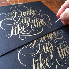 Hand Lettering EXTRAVAGANZA on Typography Served