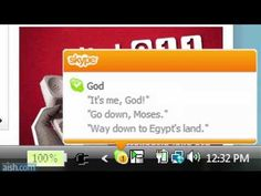 Google Exodus  What if Moses had Facebook?    LOL.So funny
