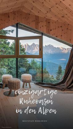 Hotel Alpen, Hotel Chalet, Hotel Bayern, Hotel In Den Bergen, Reisen In Europa, South Tyrol, Design Hotel, Beautiful Hotels, Wonderful Places