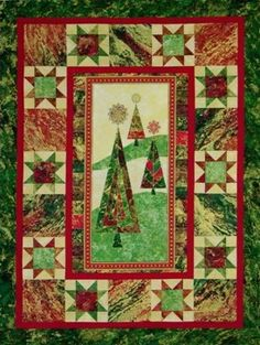 Christmas Stars.. great holiday quilt.