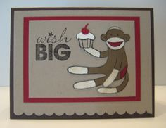 stampin up sock monkey | To Order Stampin' Up! Products On-Line 24/7, CLICK HERE!