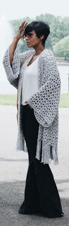 Lightweight Kimono by Commonthread // Fashion Trend by Kyrzayda