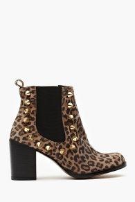 Ten 20 Chelsea Boot - Leopard