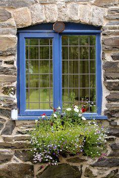 Blue window | by Desert Rhino on Flickr