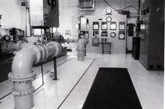 Interior of the pumping room 1997.