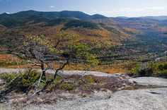 New England (2)  View of White Mountain New Hampshire by Werner Kunz