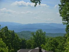 Great building lot with million dollar views! Clear view of Mt. Pisgah. Multi-layered views in established neighborhood. Complete with stream at the back of the lot.