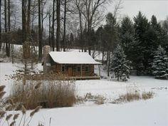 1800's Restored Log Cabin in Woods - 15 Min.... - VRBO