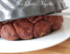 Monkey Bread Filled With Cinnamon Chocolate