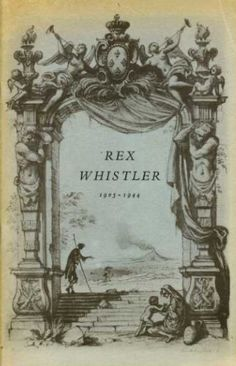 A Memorial Exhibition of Rex Whistler's works was held in the Victoria & Albert Museum, London, from October 12 to December 18, 1960, and in Brighton, January 7 to 28, 1961.  A catalogue of 31 pages was authored by brother Laurence Whistler.