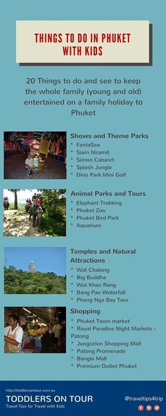 Lots of different activities and things to do when on a family holiday to Phuket with kids. http://toddlersontour.com.au/things-to-do-in-phuket-with-kids/