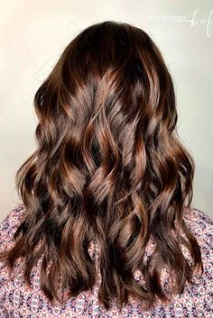 Highlights for Dark Brown Hair Color Tiger Eye: 18 Stunning New Ideas ★ See more: http://lovehairstyles.com/highlights-for-dark-brown-hair-tiger-eye/