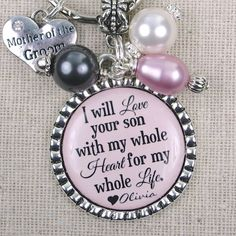 PERSONALIZED Mother of the Groom Gift Gifts by ScrapheartGifts.