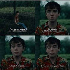 The End of the F***ing World End Of The Word, The End, Series Movies, Book Series, Ing Words, Balor Club, Motivational Phrases, Film Aesthetic, Two Faces