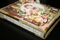 A book card by DT Marja  http://blog.pysseldags.com/2011/09/bokkort.html http://shop.pysseldags.se