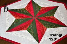 Patchwork Triangl 120° - Star