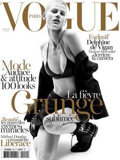 Saskia de Brauw by Mert Marcus for Vogue Paris September 2013