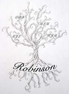 Family Tree Tattoo by DanielleHope.deviantart.com on @deviantART  .... this one could happen.