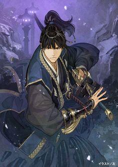 Tags: Hidari, Official Art, Cover Image, ω-Force, Toukiden 2, Kamuna (Toukiden 2)
