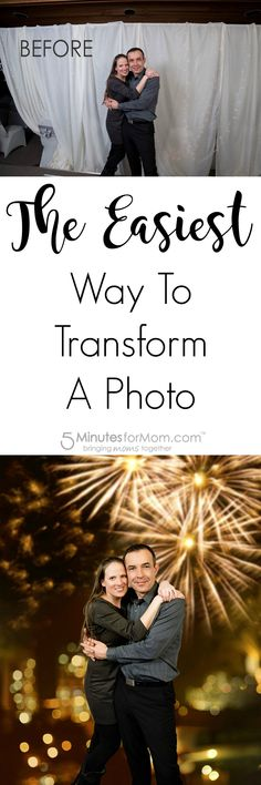 The Easiest Way to Transform a Photo - Do you ever have a snapshot that's not perfect but holds such precious memories that you want to transform it into a frame-worthy photo?