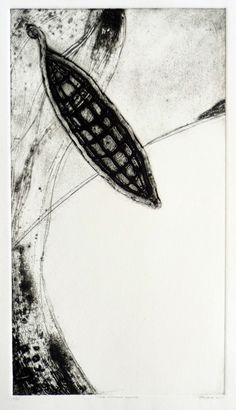 'The other shore' - collagraph