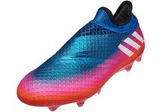 9f5352595ef44 adidas Messi 16 Pureagility FG – Blue Solar Orange