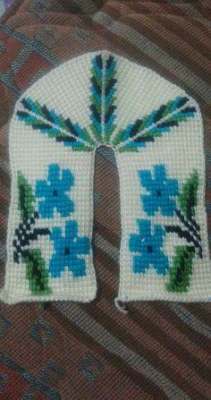 HUZUR SOKAĞI (Yaşamaya Değer Hobiler) Tunisian Crochet, Knit Crochet, Crochet Hats, Baby Knitting Patterns, Crochet Patterns, Slipper Socks, Crochet Slippers, Tissue Box Covers, Sock Shoes