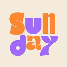 Graphic Design Fonts, Typographic Design, Graphic Design Illustration, Creative Typography, Typography Fonts, Weekday Quotes, Graphisches Design, Branding, Brand Identity