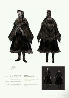 Bloodborne Concept Art, Bloodborne Art, Bloodborne Outfits, Eileen The Crow, Knight Models, Poster Text, Church Attire, Soul Art, Bear Art