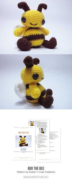 Boo The Bee Amigurumi Pattern