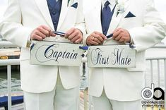 Captain & First Mate with Happily Married on by OurHobbyToYourHome, $54.95