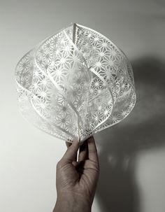Gorgeously Intricate Hand-Cut Paper Sculptures by Christine Kim - My Modern Metropolis