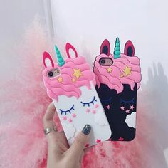 £2.79 GBP - 3D Unicorn Horse Silicone Phone Case For Iphone X 5 6 7 8 Samsung Huawei Xiaomi #ebay #Electronics