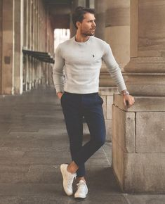 stylish mens style casual inspiration ideas 42 - Although most of us . - stylish mens style casual inspiration ideas 42 – Although most of us as men seem to be carele - Casual Outfits, Fashion Outfits, Fashion Trends, Fashion Ideas, Fashion Inspiration, Casual Shoes, Fashion 2018, Sweater Outfits, Men Fashion Casual