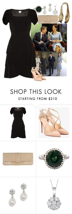 """""""DAY 6: TRH The Duchess and Duke of Lumire on Royal Tour of Japan"""" by kingdomofborduria ❤ liked on Polyvore featuring Christian Louboutin, L.K.Bennett and Allurez"""